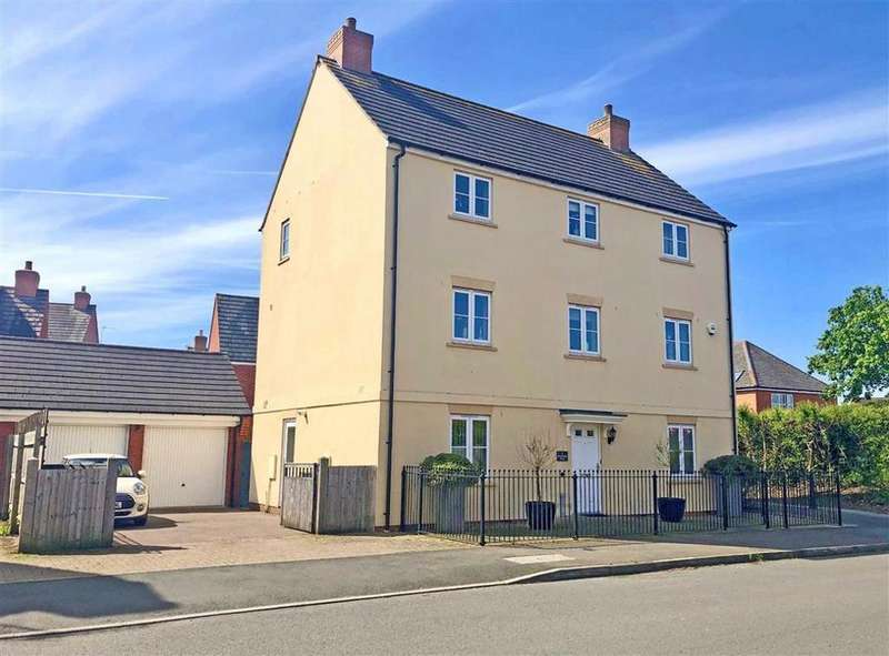 5 Bedrooms Detached House for sale in Beauchamp Road, Walton Cardiff, Tewkesbury, Gloucestershire