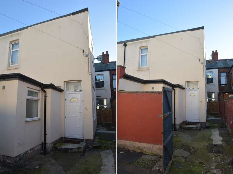 2 Bedrooms Semi Detached House for sale in Back Keswick Road, Blackpool, FY1 5PB