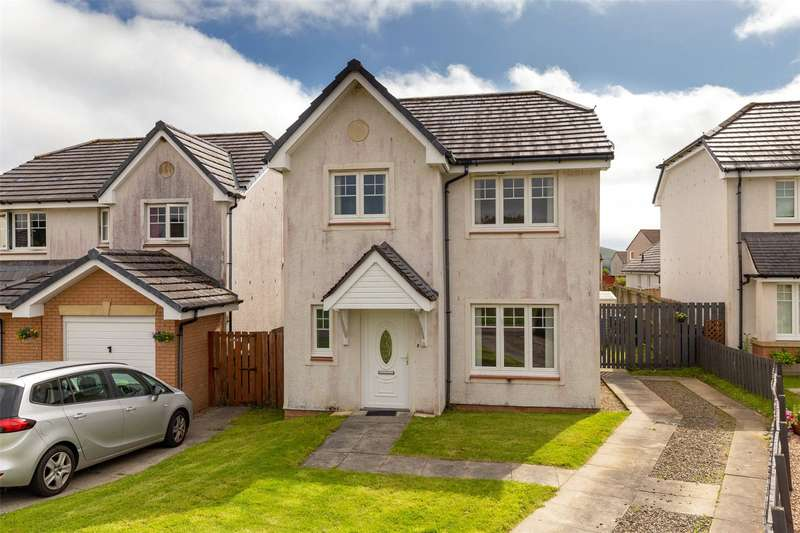 3 Bedrooms Detached House for sale in 11 Clements Wynd, Patna, Ayr, East Ayrshire, KA6