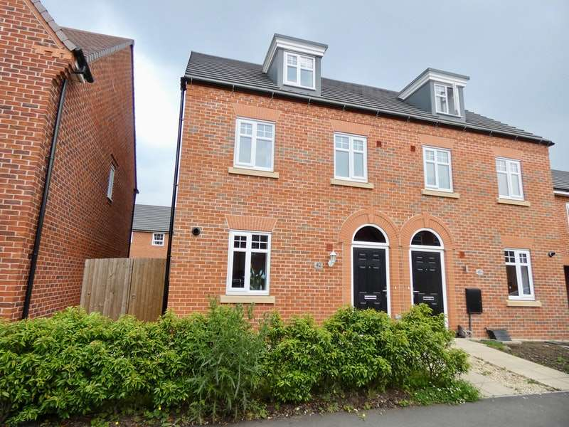 3 Bedrooms Semi Detached House for sale in Western Way, Northwich, Cheshire, CW8