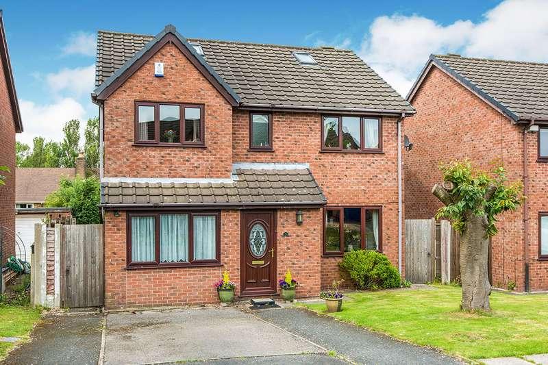 4 Bedrooms Detached House for sale in Hacklands Avenue, Lea, Preston, Lancashire, PR2