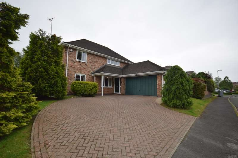 4 Bedrooms Detached House for sale in Telford Close, Congleton, Cheshire, CW12