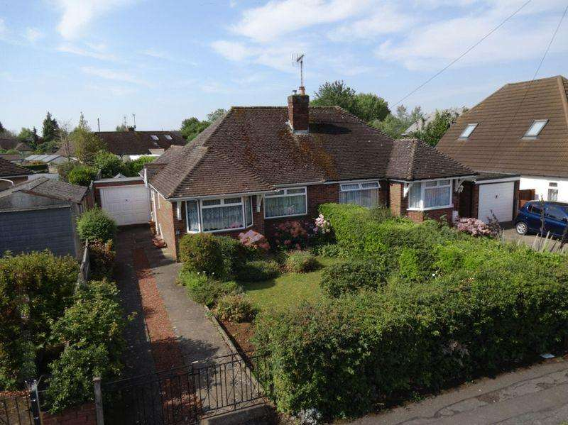 2 Bedrooms Semi Detached Bungalow for sale in Wycombe Way, Luton