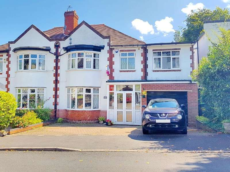4 Bedrooms Semi Detached House for sale in CHARLEMONT AVENUE, WEST BROMWICH, WEST MIDLANDS, B71 3BY