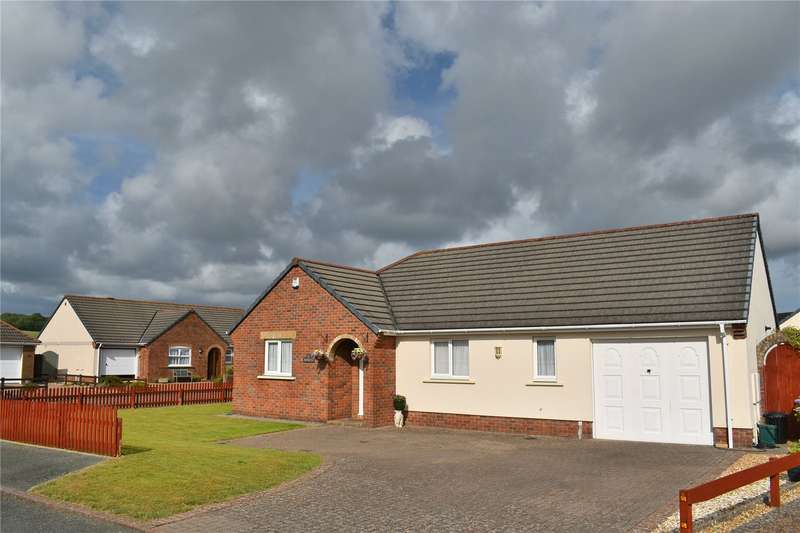 3 Bedrooms Detached Bungalow for sale in Gibbas Way, Pembroke, Pembrokeshire