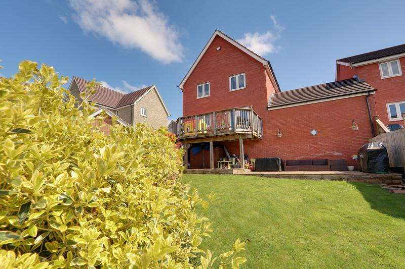 4 Bedrooms Detached House for sale in Sneyd Wood Road, Cinderford, Gloucestershire. GL14 3GD