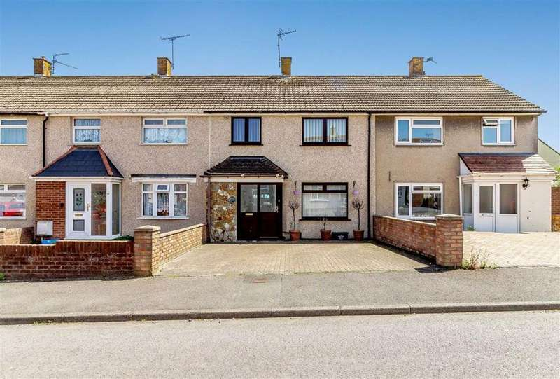 3 Bedrooms Terraced House for sale in Aust Crescent, Chepstow, Monmouthshire
