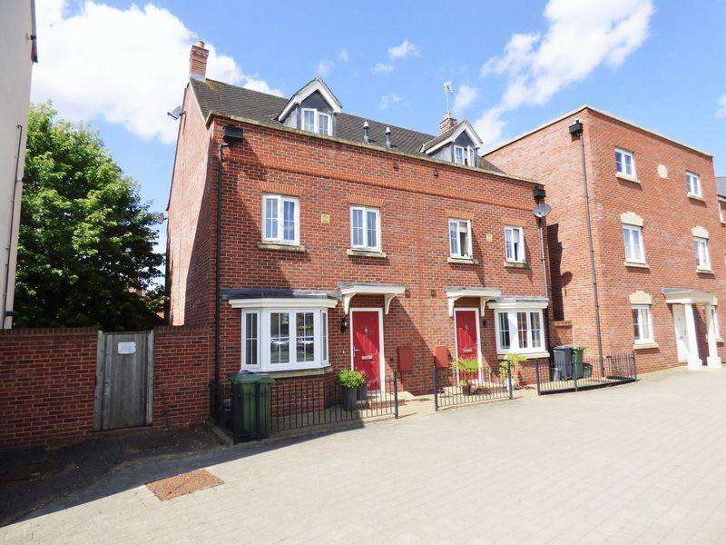 4 Bedrooms Town House for sale in Typhoon Way, Coopers Edge, Gloucester
