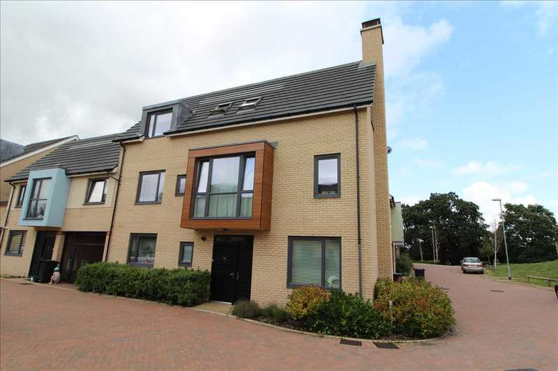 4 Bedrooms Link Detached House for sale in Flame Way, Mile End, Colchester