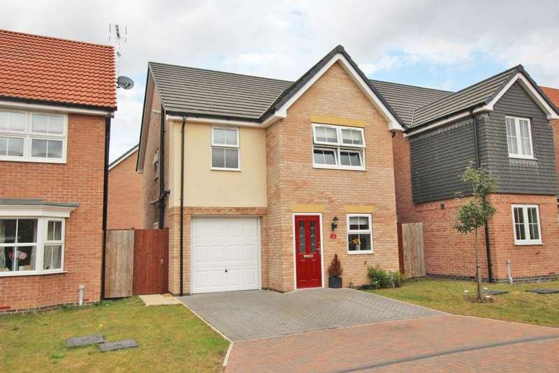 4 Bedrooms Detached House for sale in WAINWELL CLOSE, IMMINGHAM