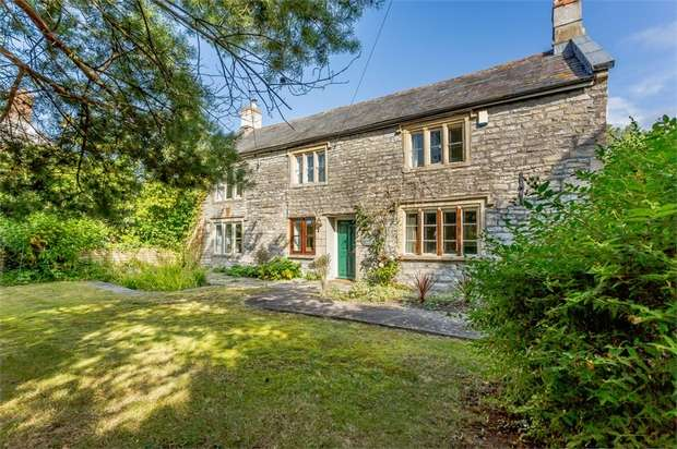 5 Bedrooms Detached House for sale in Newtown, West Pennard, Glastonbury, Somerset