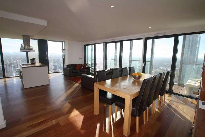 3 Bedrooms Apartment Flat for rent in Beetham Tower, 301 Deansgate, Manchester