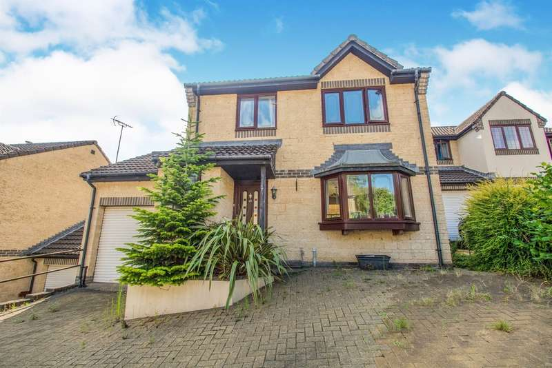 3 Bedrooms Detached House for sale in Violet Walk, Rogerstone, NEWPORT