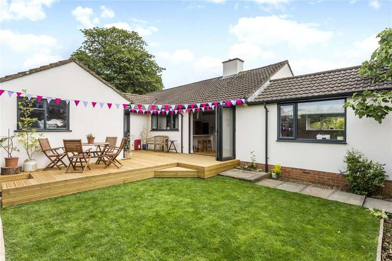 4 Bedrooms Detached Bungalow for sale in Cleevelands Avenue, Pittville, Cheltenham, Gloucestershire, GL50