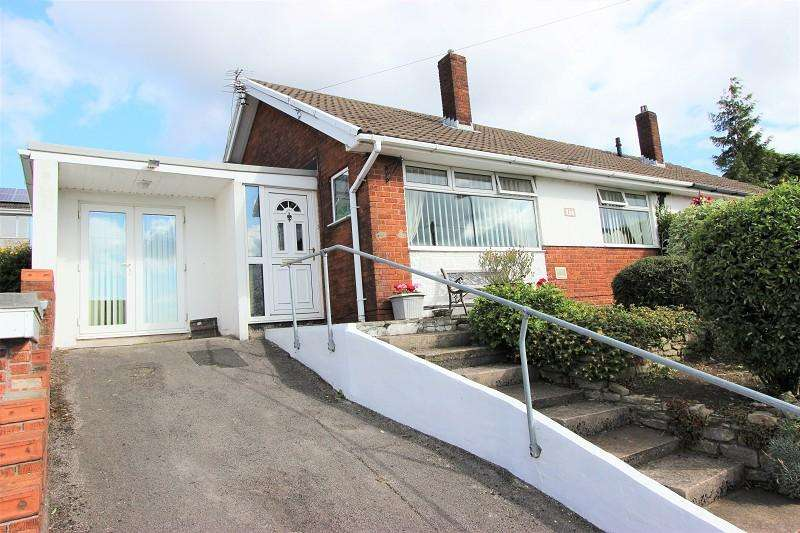 2 Bedrooms Bungalow for sale in Aberthaw Circle, Newport, Newport. NP19 9QN
