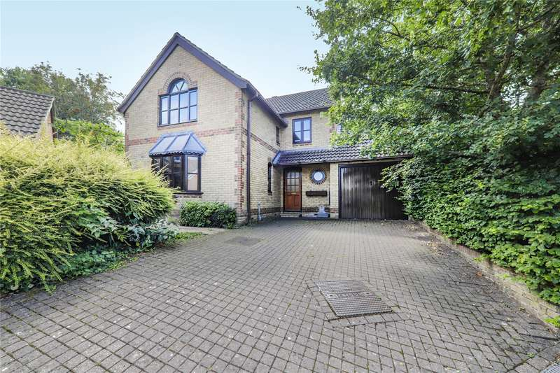 4 Bedrooms Detached House for sale in Foxglove Close, Winkfield Row, Bracknell, Berkshire, RG42