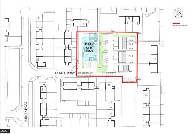 Land Commercial for sale in Perrie Drive, Honeybourne, Evesham