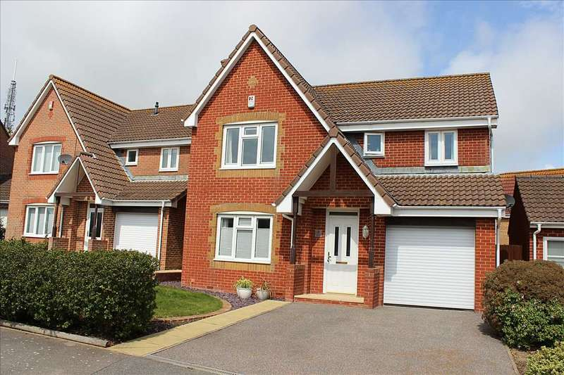 4 Bedrooms Detached House for sale in Hill Top Way, Newhaven