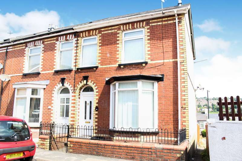 2 Bedrooms End Of Terrace House for sale in Rosser Street, Wainfelin, Pontypool, NP4