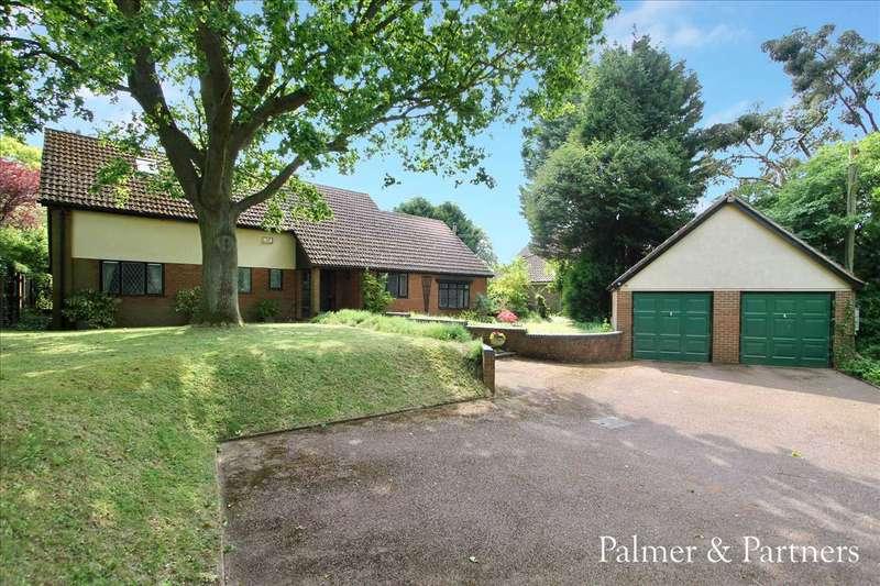 4 Bedrooms Detached Bungalow for sale in Westerfield Road, Westerfield, Ipswich, Suffolk