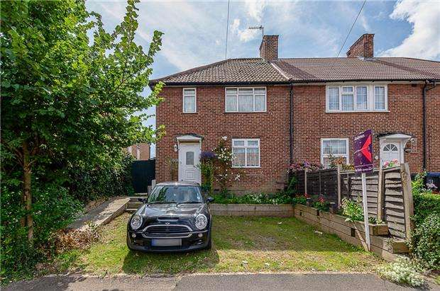 3 Bedrooms End Of Terrace House for sale in Central Road, MORDEN, Surrey, SM4 5SP