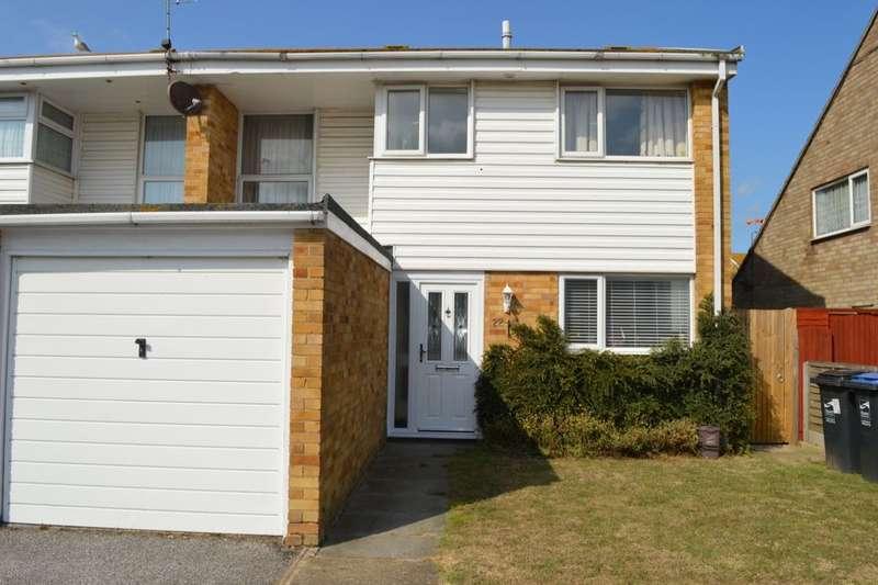 3 Bedrooms Semi Detached House for sale in Staplehurst Gardens, Cliftonville, Margate, CT9