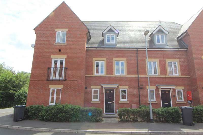 4 Bedrooms Terraced House for sale in Bledisloe Way, Tuffley, Gloucester