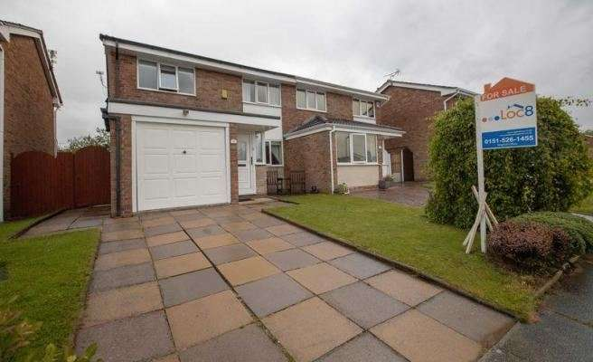 3 Bedrooms Property for sale in Charlesworth Close, Liverpool, Merseyside, L31 4AB