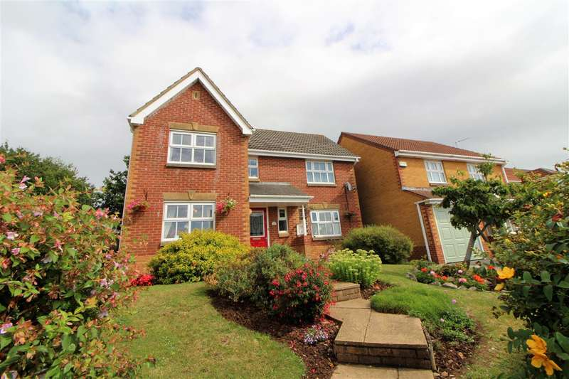 4 Bedrooms Detached House for sale in Rockfield Way, Undy