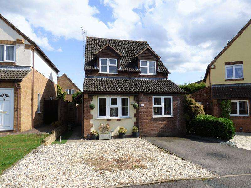 3 Bedrooms Detached House for sale in Chaceley Close, Gloucester