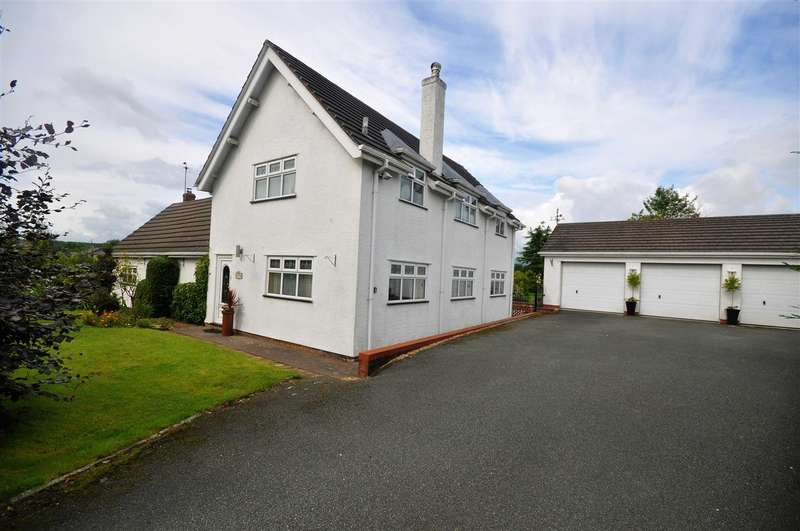5 Bedrooms Detached House for sale in The Whitehouse, Old Aston Hill, Chester