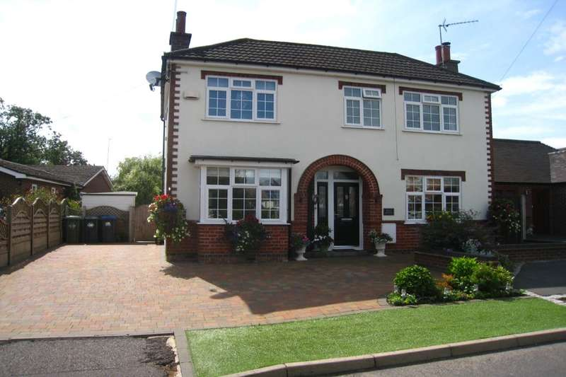 4 Bedrooms Detached House for sale in Wolds Lane, Wolvey, Hinckley, LE10