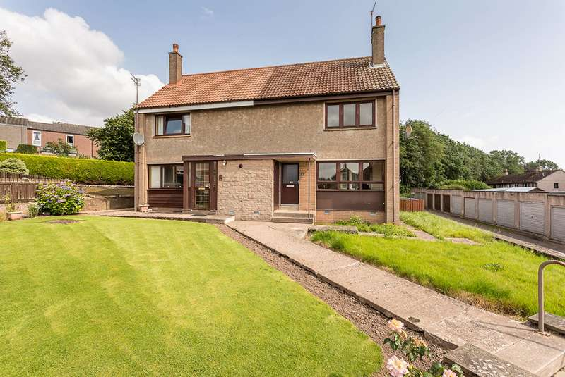 2 Bedrooms Semi Detached House for sale in Mountskip Crescent, Brechin, Angus, DD9 6BX