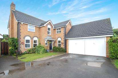4 Bedrooms Detached House for sale in Pursey Drive, Bradley Stoke, Bristol, Gloucestershire
