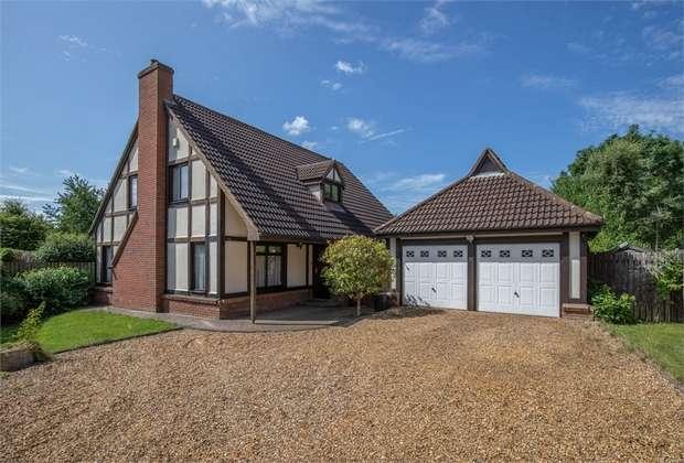 4 Bedrooms Detached House for sale in Whetstone Close, Heelands, Milton Keynes, Buckinghamshire