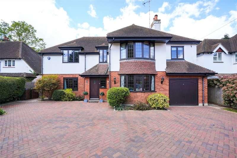 5 Bedrooms Detached House for sale in Oak Road, Cobham, Surrey, KT11