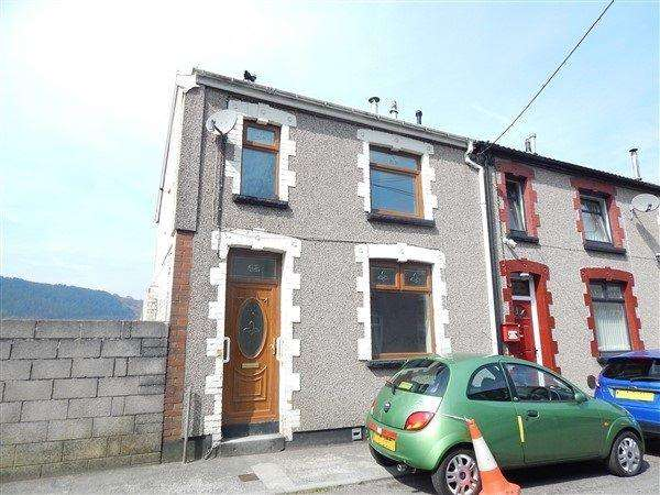 3 Bedrooms End Of Terrace House for sale in Bishop Street, Abertillery, NP13 1EQ