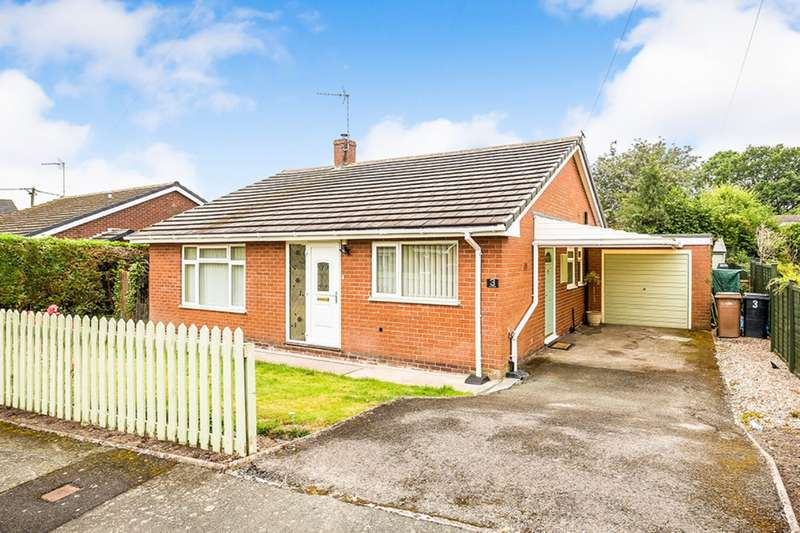 3 Bedrooms Detached Bungalow for sale in Marsland Close, St. Martins, Oswestry, Shropshire, SY11