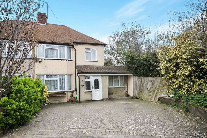4 Bedrooms Semi Detached House for sale in Manse Way, Swanley, Kent, BR8