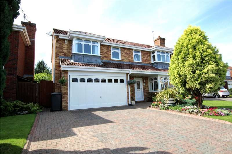 5 Bedrooms Detached House for sale in Bradman Drive, Riverside, Chester Le Street, DH3
