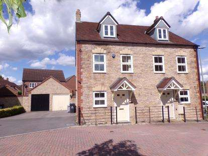 3 Bedrooms Semi Detached House for sale in Marham Drive Kingsway, Quedgeley, Gloucester, Gloucestershire