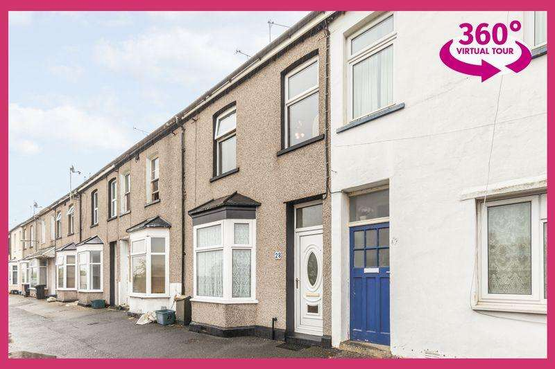 2 Bedrooms Terraced House for sale in Riverside, Newport, VIEW THE 360 TOUR AT REF#00003233