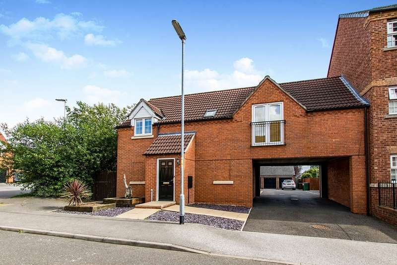2 Bedrooms Apartment Flat for sale in Fulmen Close, Lincoln, LN1