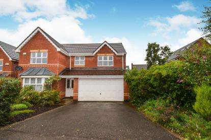 4 Bedrooms Detached House for sale in Audley Close, Market Harborough, Leicester, Leicestershire