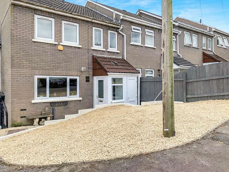 3 Bedrooms Terraced House for sale in Edwards Court, Ebbw Vale, NP23
