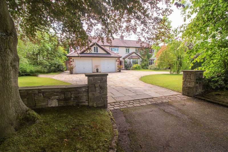 5 Bedrooms Detached House for sale in LADYTHORN CRESCENT, Bramhall