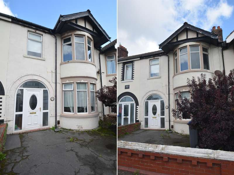 4 Bedrooms Terraced House for sale in Watson Road, South Shore, Blackpool, FY4 1EG