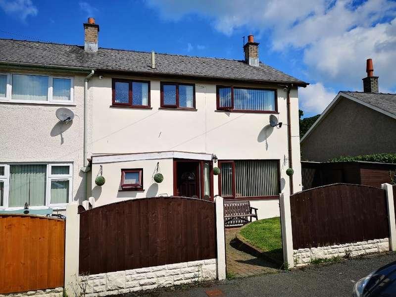 3 Bedrooms End Of Terrace House for sale in Y Berllan, Eglwysbach, Conwy, LL28 5UR