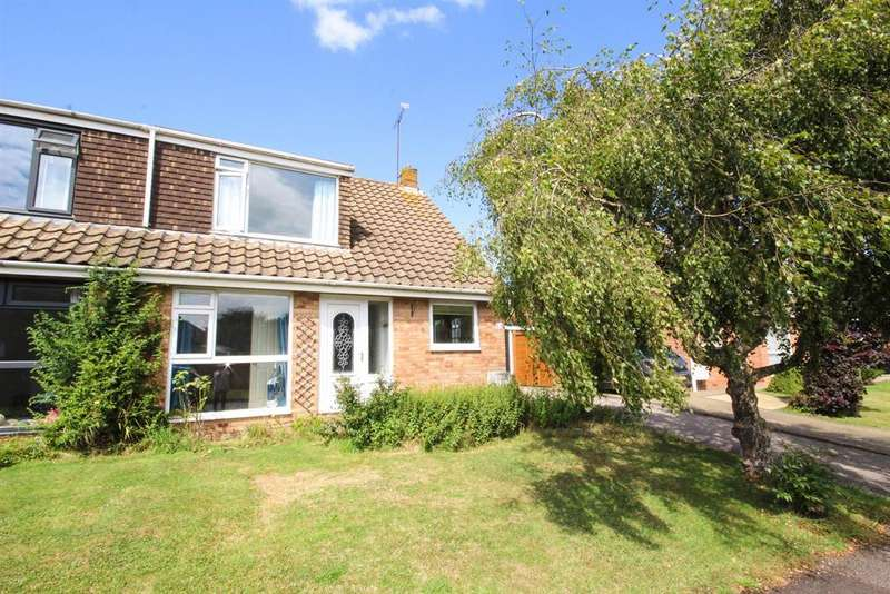 3 Bedrooms Semi Detached House for sale in Underhill Road, Charfield, South Glos, GL12 8TQ