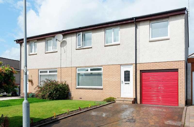 4 Bedrooms Semi Detached House for sale in Millfield Crescent, Erskine, Renfrewshire, PA8 6JE